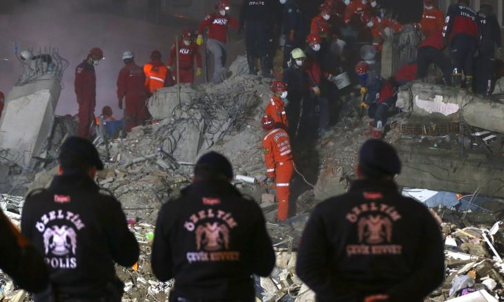 Death toll climbs to 109 from devastating İzmir quake