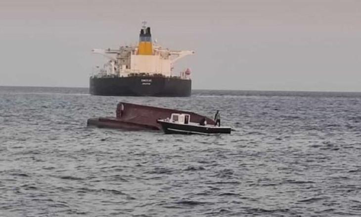Four fishermen die when boat crashes into Greek tanker Mediterranean Turkey coast