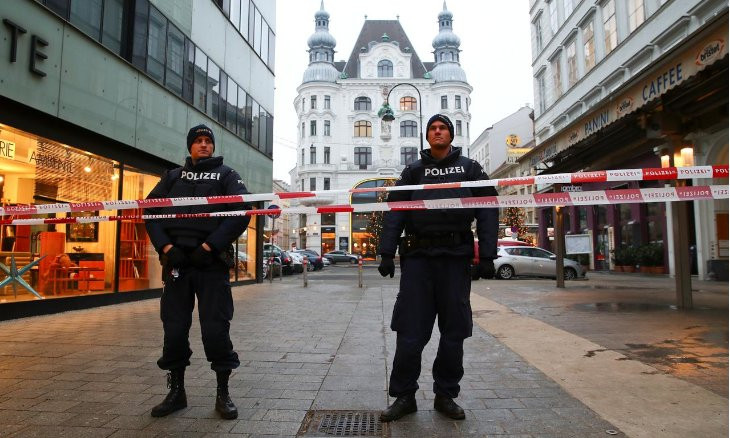 Turkish Interior Ministry says it warned Austria on Vienna shooter before